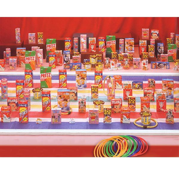 [送料無料] お菓子輪投げ大会 お菓子景品190個【お祭り景品・縁日】