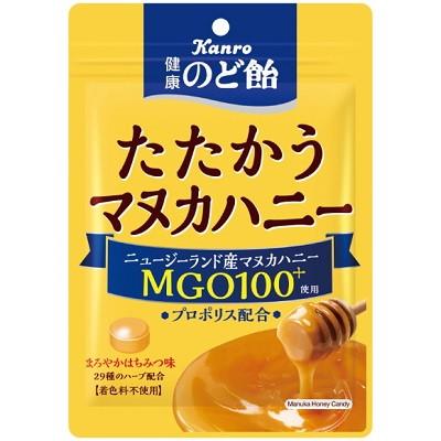 カンロ 健康のど飴たたかうマヌカハニー 80G×48個