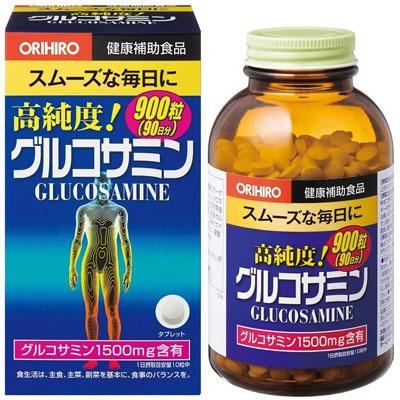 オリヒロPD 高純度グルコサミン粒徳用 900粒×10個  【送料無料】