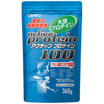 オリヒロ アクティブプロテイン100 360g×10個  【送料無料】