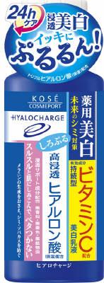 KCP ヒアロチャージ 薬用ホワイトミルキィローション 160ml×36個  【送料無料】