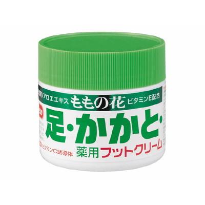 オリヂナル ももの花 薬用フットクリーム 70g×48個 【送料無料】