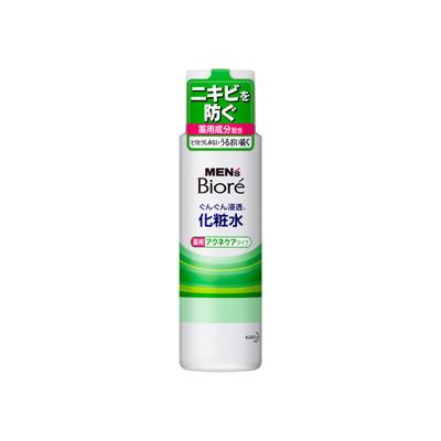 メンズビオレ浸透化粧水 薬用アクネケアタイプ 180ml×24個  【送料無料】