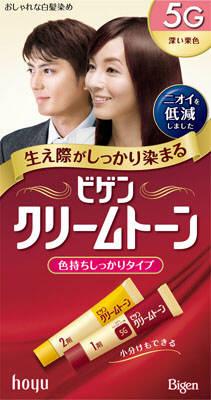 ホーユー ビゲンクリームトーン 5G 80g×54個  【送料無料】