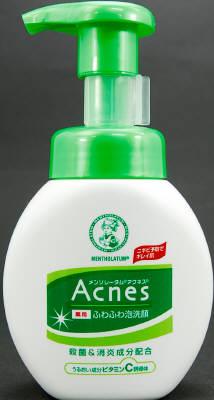 ロート製薬 Acnes 薬用ふわふわ泡洗顔 160ml×36個  【送料無料】