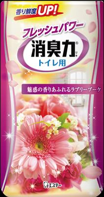 エステー トイレの消臭力 ラブリーブーケ 400ml ×36個【送料無料】【消臭剤】【芳香剤】