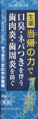 サンスター サンスター薬用塩ハミガキすっきりさわやか香味85g ×80個【送料無料】【オーラル】【歯磨き】【歯ブラシ】