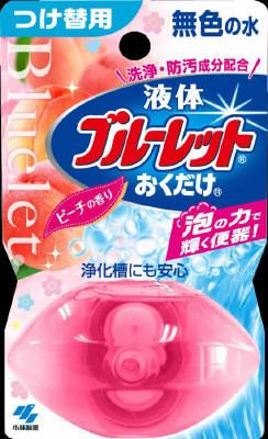 小林製薬 液体ブルーレットおくだけ ピーチ 替 ピーチ×48個【送料無料】【消臭剤】【芳香剤】