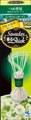 小林製薬 消臭元香るStick つめ替 イングリッシュG ×100個【送料無料】【消臭剤】【芳香剤】