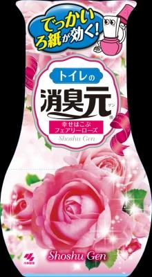 小林製薬 トイレの消臭元 フェアリーローズの香り400mL ×32個【送料無料】【消臭剤】【芳香剤】