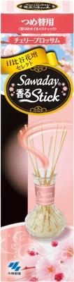 小林製薬 消臭元香るStick替 チェリーブロッサム70ml ×140個【送料無料】【消臭剤】【芳香剤】