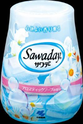 小林製薬 サワデー アロマティックソープ 140g ×48個【送料無料】【消臭剤】【芳香剤】