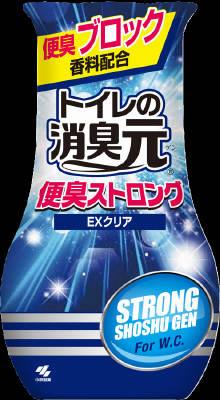 小林製薬 トイレの消臭元 便臭ストロング 400ml×32個【送料無料】【消臭剤】【芳香剤】