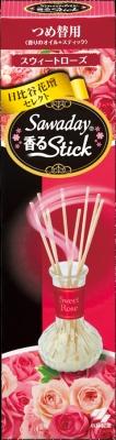 小林製薬 消臭元香るStick つめ替 スウィートローズ ×100個【送料無料】【消臭剤】【芳香剤】