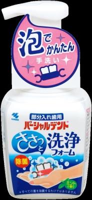 小林製薬 パーシャルデント 洗浄フォーム 250g×24個【送料無料】【オーラル】【歯磨き】【歯ブラシ】