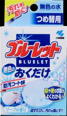 小林製薬 無色のブルーレットおくだけ つめ替 25g 無色×112個【送料無料】【消臭剤】【芳香剤】