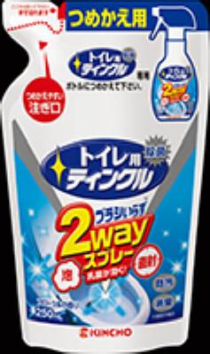 大日本除蟲菊 トイレ用ティンクル 泡直射2wayスプレー 替 ×48個【送料無料】【住居用洗剤】【お掃除】