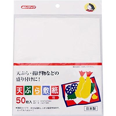 ボンクック天ぷら敷紙竹50P×240個