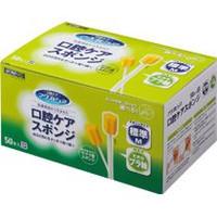 川本産業 口腔ケアスポンジ プラ軸M50P×24個(1ケース) 1個当たり税抜1364円 【送料無料】