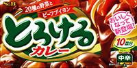 ヱスビー食品 ヱスビーとろけるカレー中辛180G ×60個【送料無料】