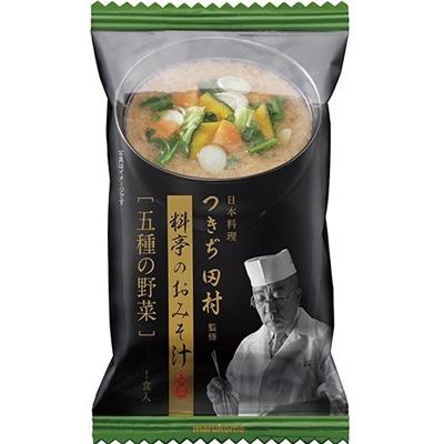 マルコメ FD日本料理つきぢ田村監修五種の野菜1食×80個 【送料無料】