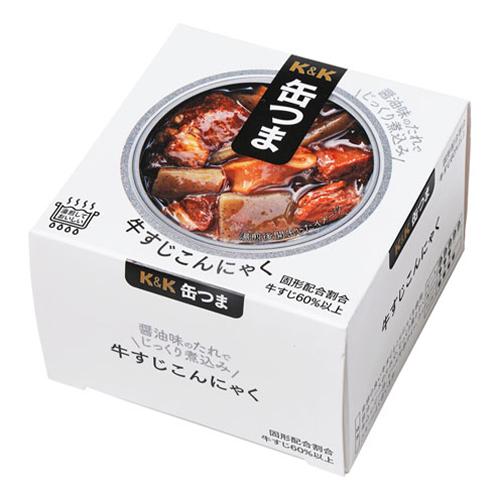 年間定番 ☆送料無料☆ 北海道 沖縄以外 国分 売り込み 牛すじこんにゃく 缶つま 140g×24個
