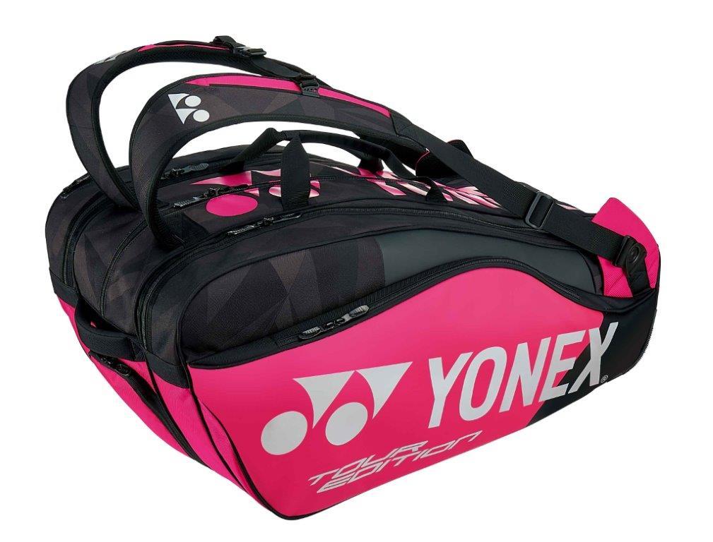 【お買い得商品】ヨネックス YONEX テニス ソフトテニス バドミントン ラケットバッグ9 ラケットバッグ リュック付き (テニス9本用)BAG1802N ブラック/ピンク (181)