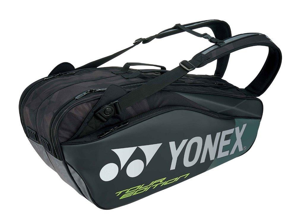 【お買い得商品】ヨネックス YONEX テニス ソフトテニス バドミントン ラケットバッグ6 ラケットバッグ リュック付き (テニス6本用)BAG1802R ブラック (007)