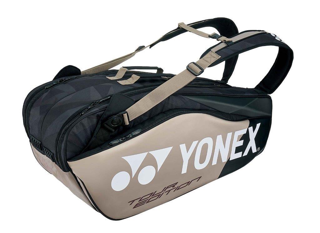 【お買い物マラソン限定ポイント5倍!8/4~8/9迄】【お買い得商品】ヨネックス YONEX テニス ソフトテニス バドミントン ラケットバッグ6 ラケットバッグ リュック付き (テニス6本用)BAG1802R プラチナ (695)