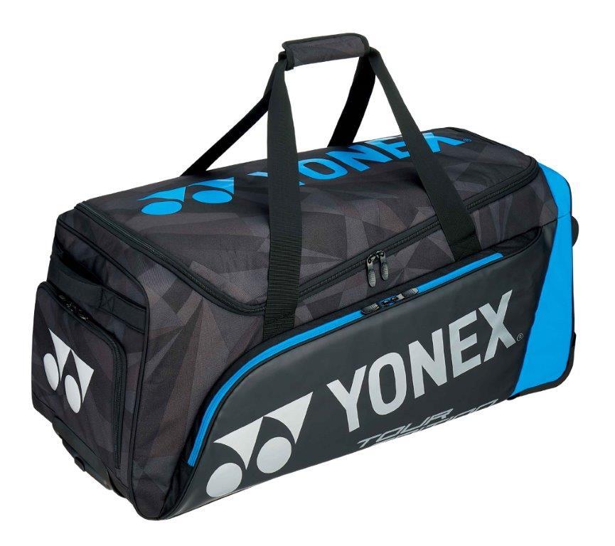 ヨネックス YONEX テニス ソフトテニス バドミントン キャスターバッグ BAG1800C ブラック/ブルー (188)
