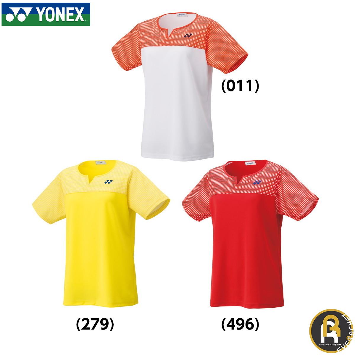 2020年SS YONEX:ウィメンズゲームシャツ ポスト投函送料無料 ヨネックス YONEX ウィメンズゲームシャツ 20541 超人気 専門店 ソフトテニス バドミントン ウエア 国際ブランド