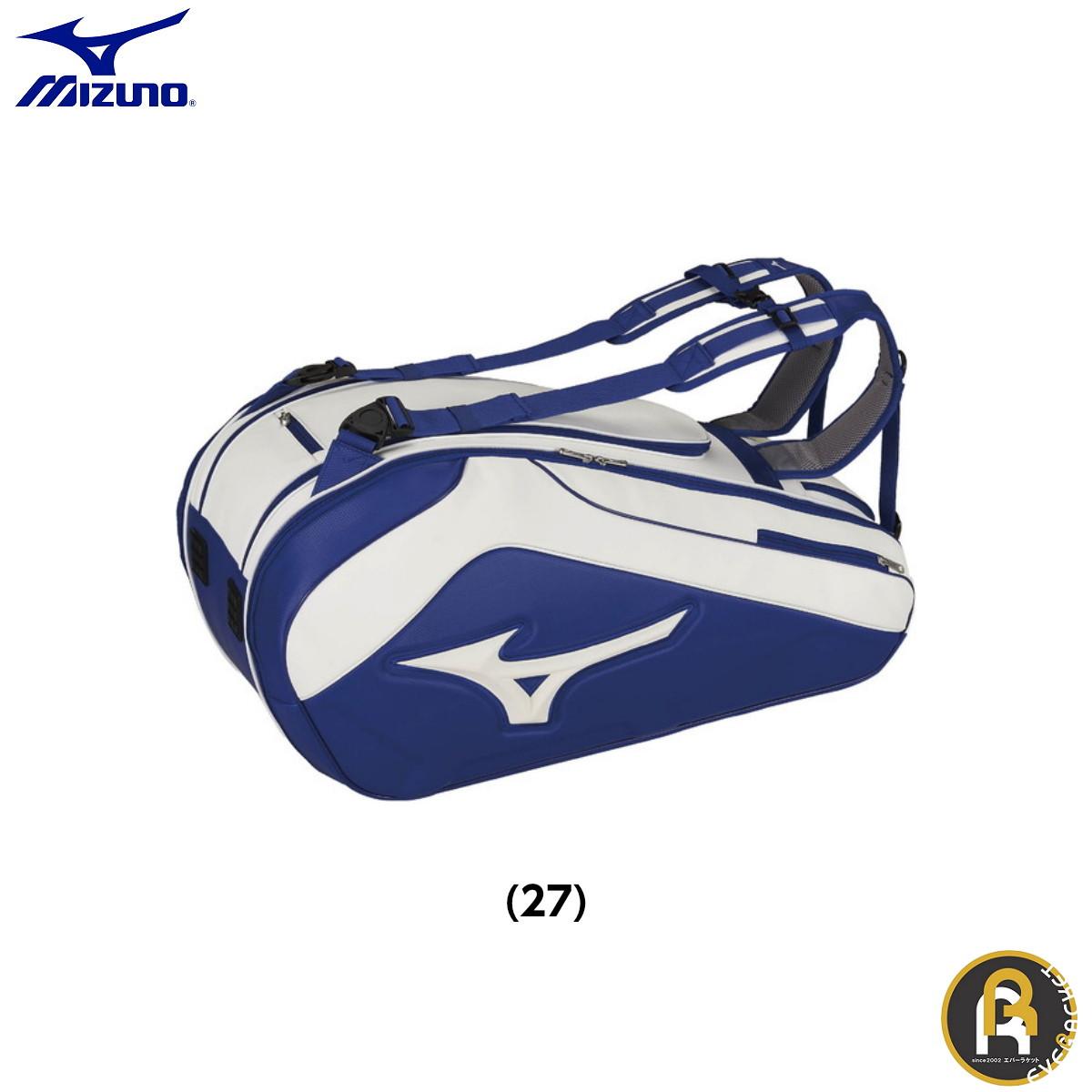 ミズノ MIZUNO バッグ PROモデルラケットバッグ9 63GD9002 バドミントン・テニス