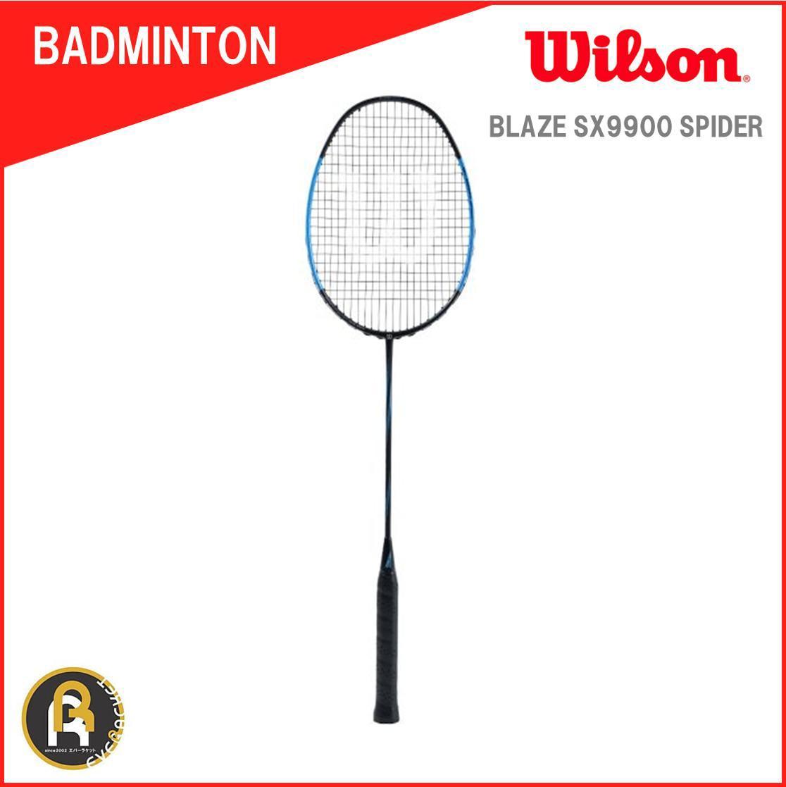 ウイルソン Wilson バドミントン ラケット バドミントンラケット ガット代 張り上げ代無料 BLAZE SX9900 SPIDER ブレイズSX9900スパイダー WRT8824202