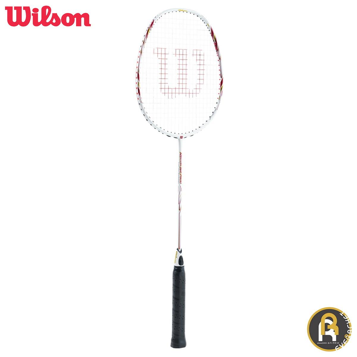 【お買い得商品】Wilson ウイルソン バドミントン ラケット バドミントンラケット ガット代 張り上げ代無料 RECON PX7600 WRT8832202