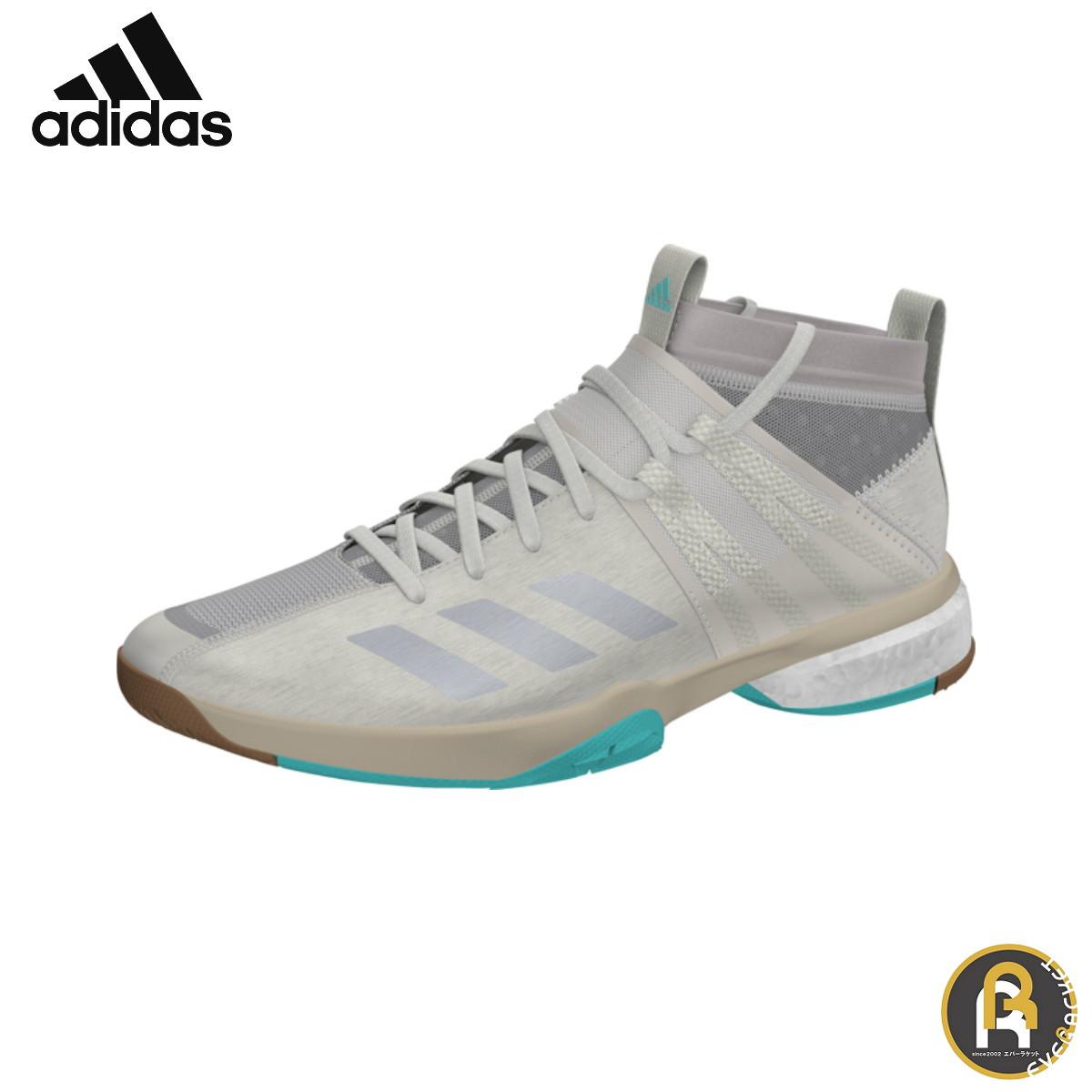 【アディダスクリアランス】 adidas バドミントン バドミントンシューズ ヴフトP8.1 ブーストシューズ ブラウン DA8867