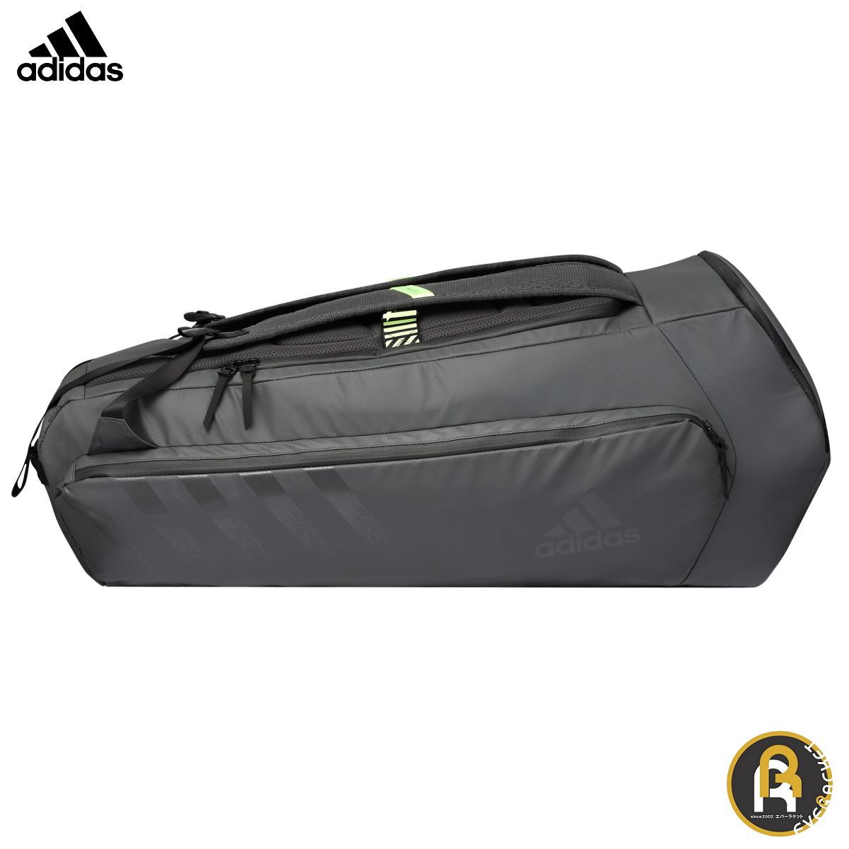 adidas アディダス バドミントン バッグ アーバン ラケットバッグ 6本入り BG920211