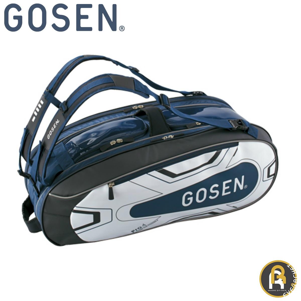 GOSEN ゴーセン バッグ ラケットバッグ Pro4 BA18PR4G