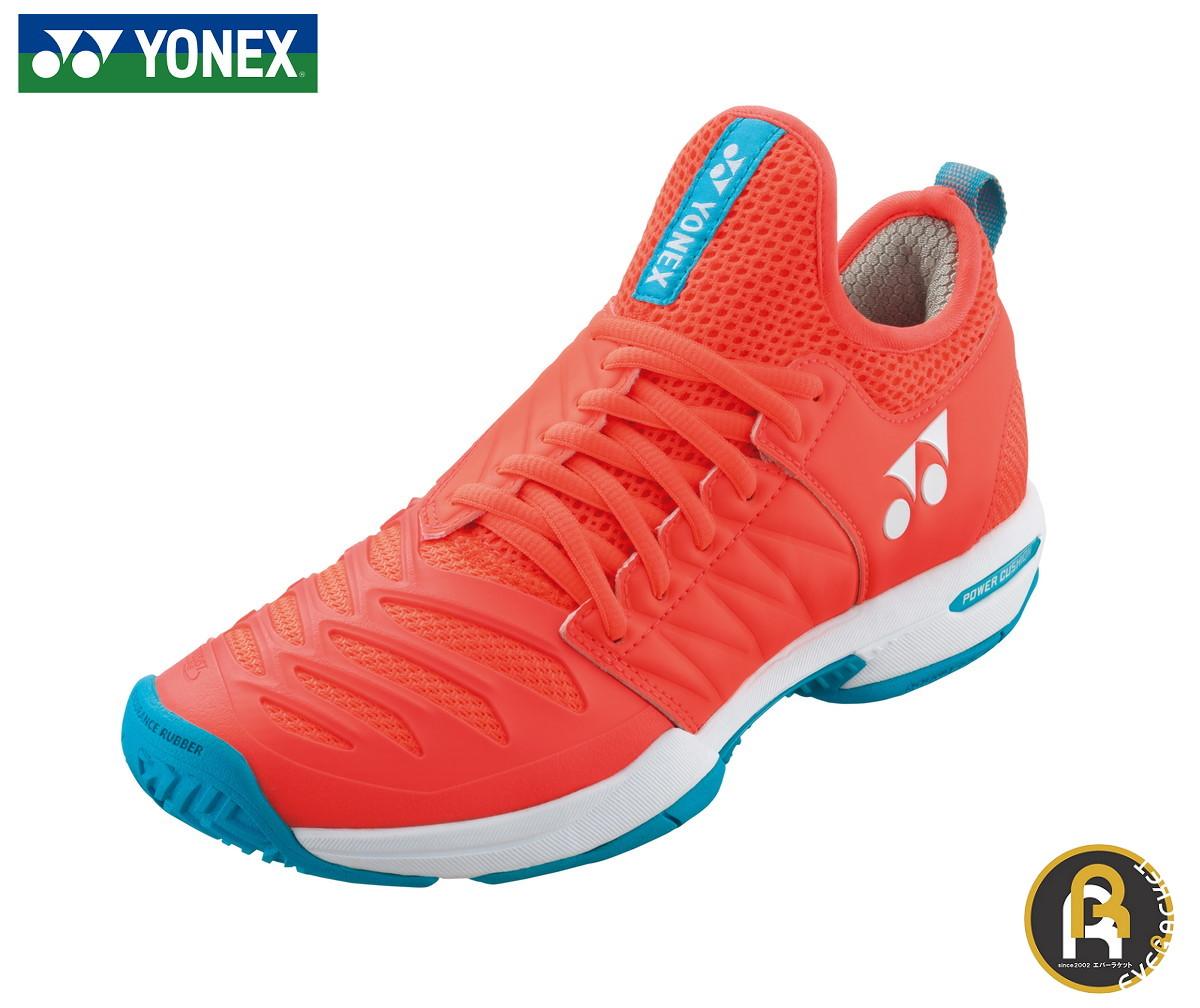 【スーパーセールポイント5倍】ヨネックス YONEX テニスシューズ パワークッションフュージョンレブ3LAC SHTF3LAC ソフトテニス