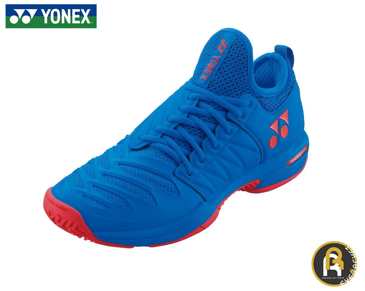 ヨネックス YONEX テニスシューズ パワークッションフュージョンレブ3MAC SHTF3MAC ソフトテニス