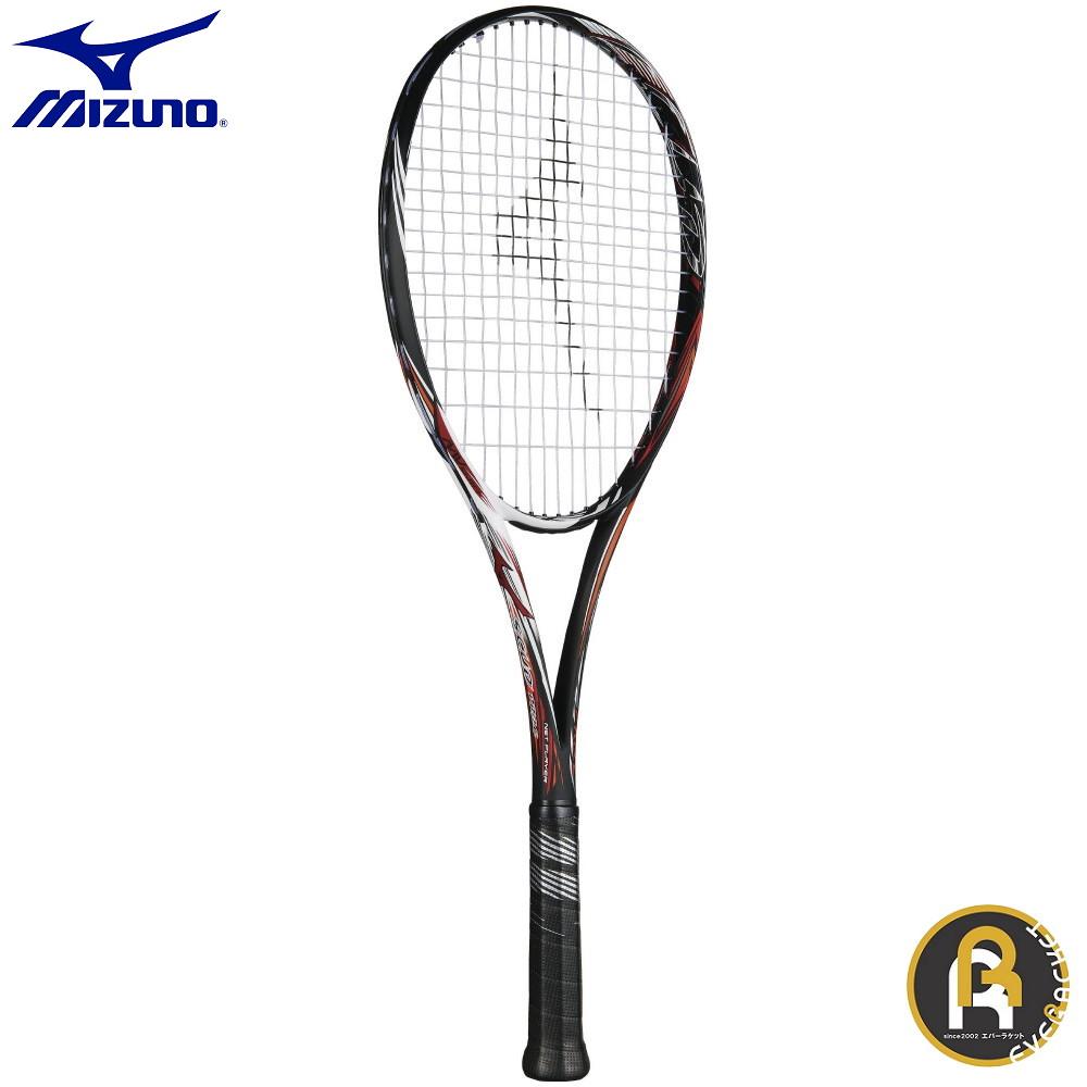ミズノ MIZUNO ソフトテニス ラケット ラケット ガット代 張り代 無料 SCUD PRO-C 63JTN85254 スカッドプロシー前衛向き