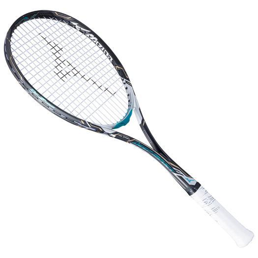 【特価商品】ミズノ MIZUNO ソフトテニス ラケット DI-Z TOUR ディーアイZツアー 63JTN74220 ソリッドブラック×メタルブルー (20) 後衛モデル