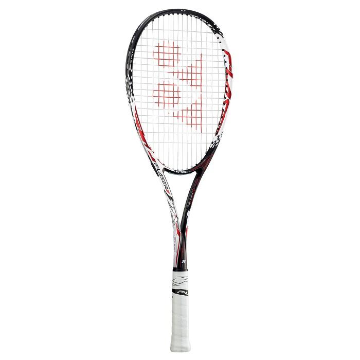 【お買い得商品】ヨネックス YONEX ソフトテニス ラケット ラケット ガット代 張り代 無料 エフレーザー7S F-LASER7S FLR7S レッド (001) 後衛モデル