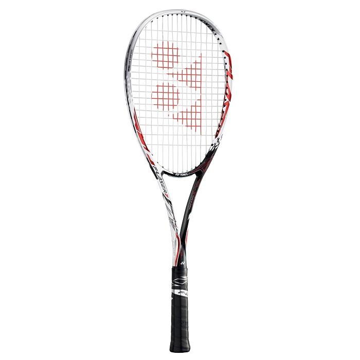【お買得】ヨネックス YONEX ソフトテニス ラケット ラケット ガット代 張り代 無料 エフレーザー7V F-LASER7V FLR7V レッド (001) 前衛モデル