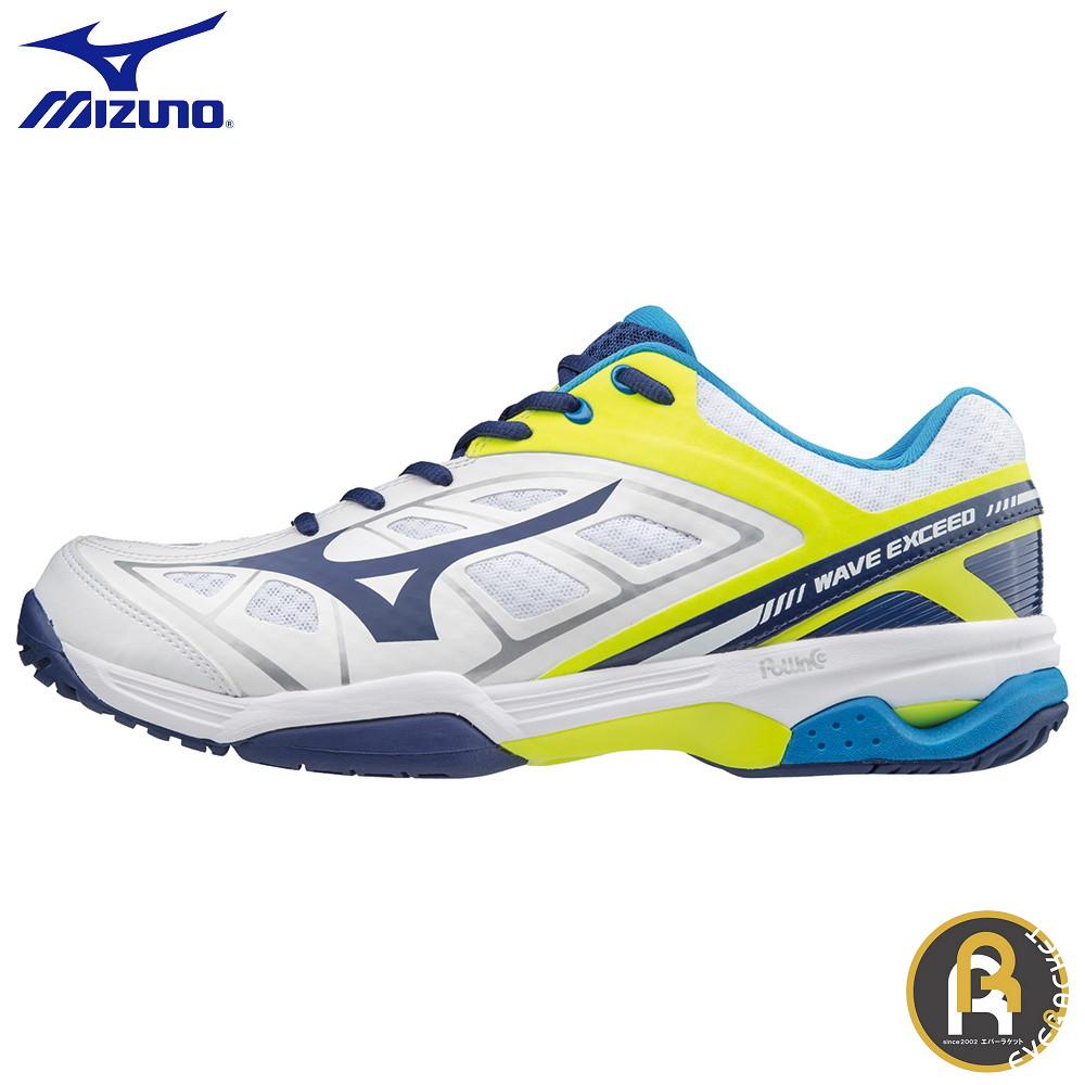 MIZUNO ミズノ テニス ソフトテニス ソフトテニスシューズ WAVE EXCEED AC 61GA175314 ウエーブエクシードAC