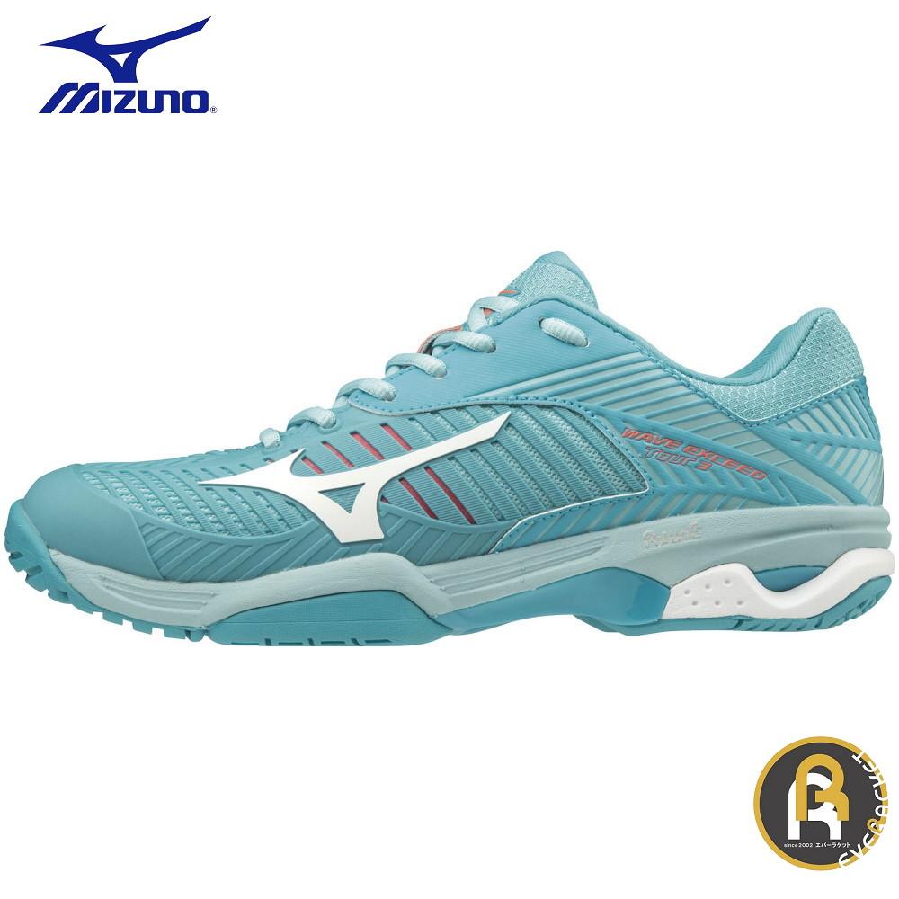 【お買い得商品】MIZUNO ミズノ テニス ソフトテニス ソフトテニスシューズ WAVE EXCEED TOUR3 OC 61GB187335 ウエーブエクシード TOUR3 OC