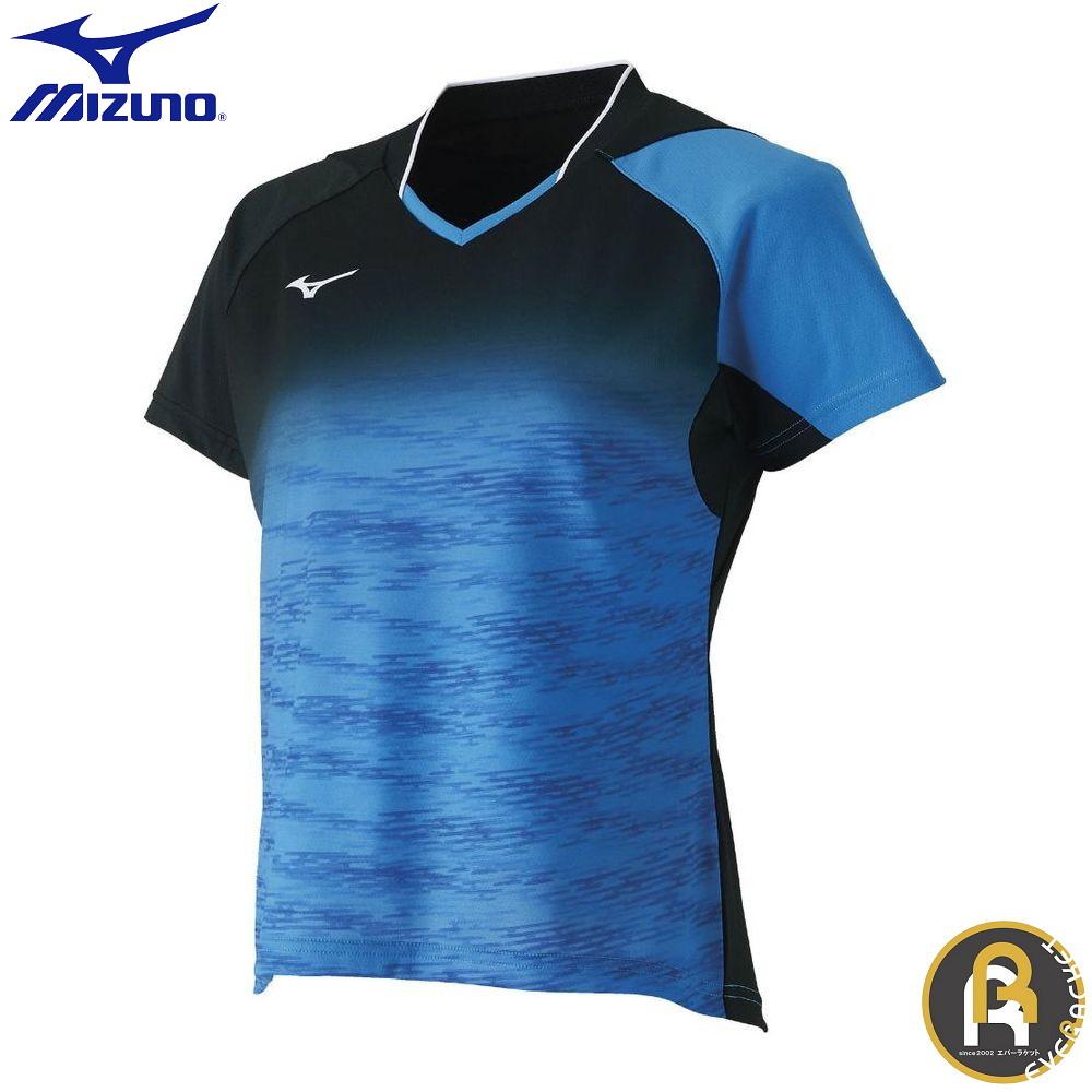 MIZUNO ミズノ バドミントン ソフトテニス ウエア ゲームシャツ ウィメンズ 62JA870824