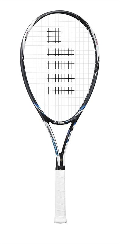 【ゴーセンクリアランス】sra4 ゴーセン ソフトテニス ラケット ゴーセン アクシエス400 BL