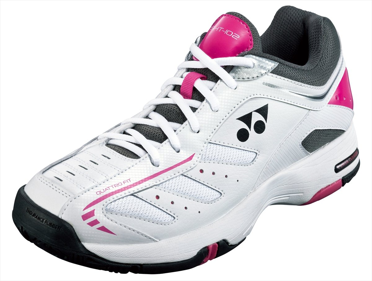 SHT-102 Yonex YONEX tennis power cushion 102 102 POWER CUSHION black / pink 05P0Oct16