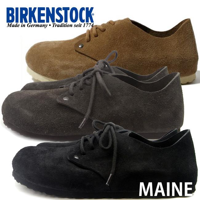 ビルケンシュトック メイン BIRKENSTOCK Maine レースアップ 672013 672043 672053 672223 672233 672243 細幅 レディース あす楽対応