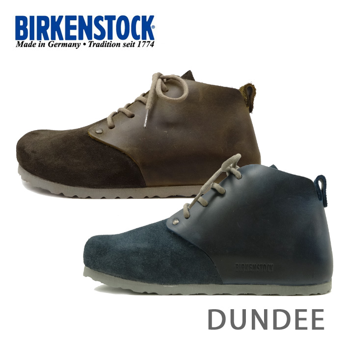 ビルケンシュトック ダンディー BIRKENSTOCK Dundee ブーツ 692753 692783 細幅 Leather Antique/Suede VL/NL ANTIK メンズ あす楽対応